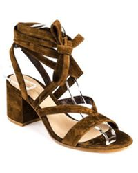 Gianvito Rossi - Janis Low 65 Texas Suede - Lyst