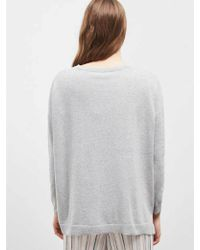Great Plains - Cleo Cashmere Knit In Grey - Lyst