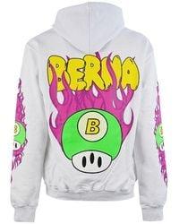 Berna Cotton Sweatshirt - White