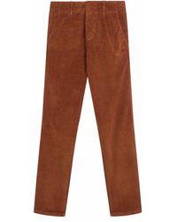 Leon & Harper Poupee Corduroy Trousers - Brown