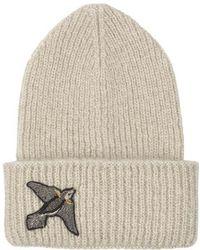 Becksöndergaard - Jadie Bird Hat In Nutmeg White - Lyst