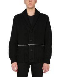 McQ Wool Knit Cardigan - Black