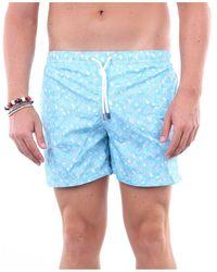 Fedeli Swimwear Sea Shorts Heavenly Fantasy - Blue