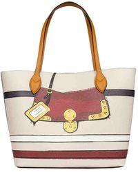 Roberta Di Camerino Shopping Bag Grande - Multicolor