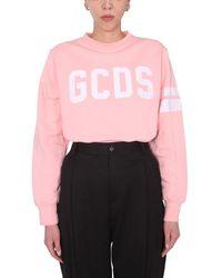 Gcds Cc94w02105706 Other Materials Sweatshirt - Pink