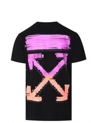 Off-White c/o Virgil Abloh Markers Ss Slim T Shirt - Black