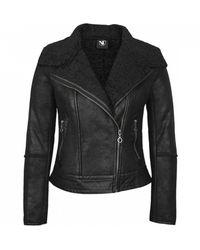 NÜ Aisha Biker Jacket - Black