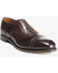 Allen Edmonds Strand Cordovan Dress Shoe Brown