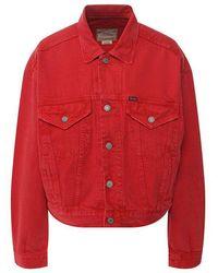 Polo Ralph Lauren Trucker Denim Jacket - Red