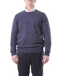 Della Ciana Dark Gray Crewneck Sweater