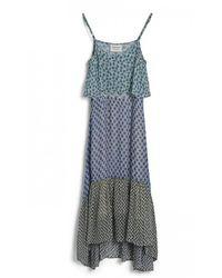 Cecilie Copenhagen Women's Ofelia Popover Dress - Blue