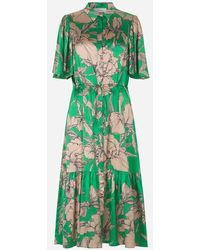 Munthe Tanta Floral Dress Green