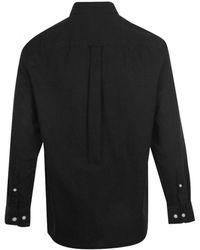 J.Lindeberg David-gmd Oxford Shirt Black