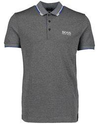 BOSS Athleisure Boss Paddy Pro Polo Shirt - Blue