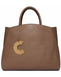 Coccinelle Shoulder Bag In Brown