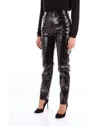 Saint Laurent Saint Laurent Patent Pants - Black