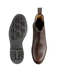 Cheaney Cheaney Barnes Iii B Pull Up Leather Chelsea Boot - Brown
