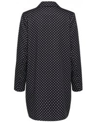 SELECTED - Millado Dotted Blazer - Lyst