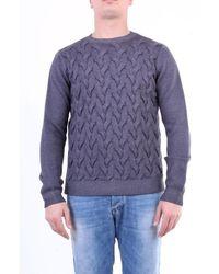 Jeordie's Knitwear Crewneck Men Grey