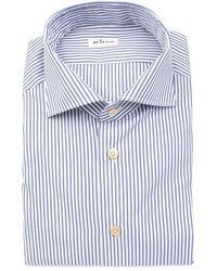 Kiton Men's Shirts 7333 31 - Blue