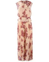 Marella Cap Sleeve Floral Jumpsuit - Pink