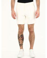 CASABLANCA Bermuda Shorts - White