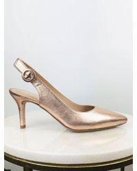 Unisa Pink Sling Back Shoes