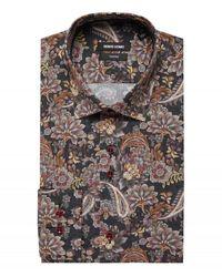 Remus Uomo Uomo Paisley Shirt Colured Colour: Colured, - Multicolour