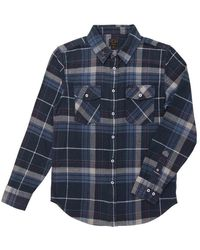 Dark Seas Topanga Woven Shirt - Blue
