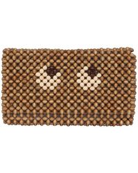 Anya Hindmarch Beads Eyes Pouch - Multicolour