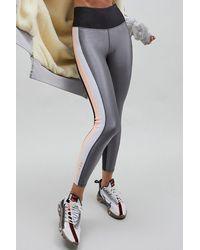 P.E Nation Side Runner legging - Pewter - Gray
