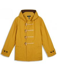 Gloverall Summer Monty Jacket Mustard - Yellow