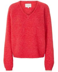 Lolly's Laundry Lollys Laundry Aliza Jumper - Cerise - Red