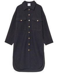 Yerse Amber Coat () - Black
