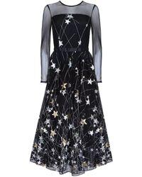 Ukulele Princess Star Dress - Black