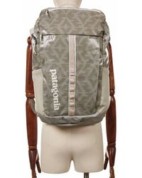 Patagonia Women's Black Hole 23l Backpack - Field Geo Small: Pumice Co - Gray