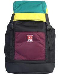 DIESEL - Men's X06625pr027h7297 Multicolor Polyamide Backpack - Lyst