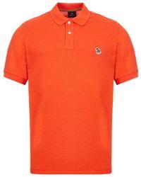 Paul Smith - Zebra Short Sleeve Polo Shirt - Lyst