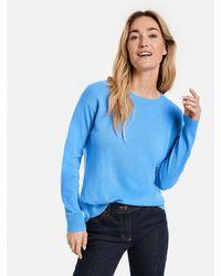 Gerry Weber Sky Wool-cashmere Jumper - Blue