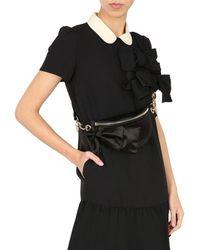 RED Valentino Women's Vq2b0c59cun0no Black Other Materials Belt Bag