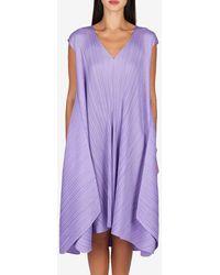 Issey Miyake Dresses - Purple