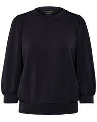 SELECTED Slftenny Sweatshirt - Black