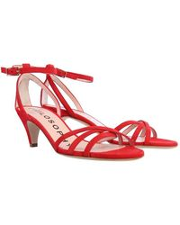 Philosophy Di Lorenzo Serafini Sandals With Bow - Red