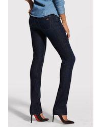 DL1961 Coco Curvy Straight Jean In Solo - Blue