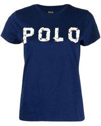 Ralph Lauren - Polo T-shirt Navy - Lyst