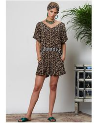 9f7845de3e56 Hayley Menzies - Sahara Short Jumpsuit - Lyst