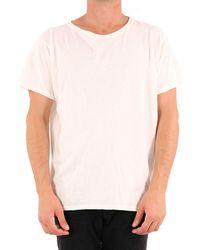 Greg Lauren Printed T-shirt White