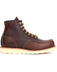 Red Wing Moc Toe - Brown