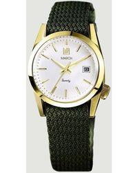 March LA.B Seventy Five Watch Khaki - Green