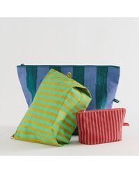 BAGGU - Afternoon Stripes Go Pouch Set - Lyst